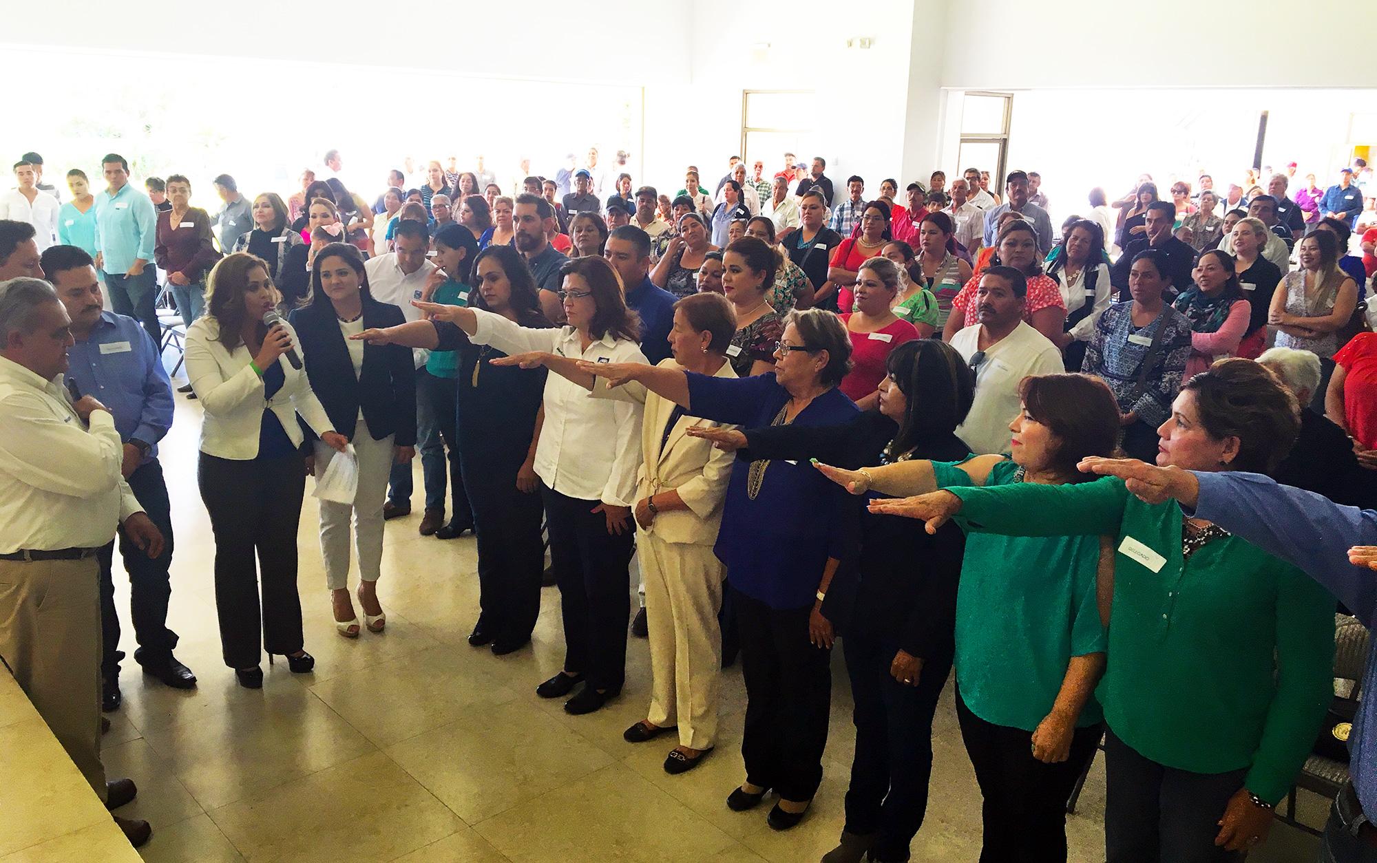 Toma de protesta a nueva dirigencia del CDM del PAN en Puerto Peñasco
