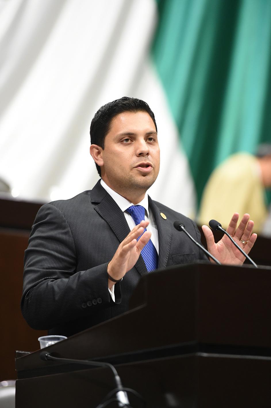 Dip. Federal del PAN Everardo López Cordova.
